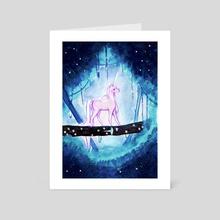 Tiny Unicorns - Art Card by Mayte Ramirez