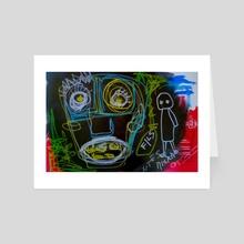 SURPRISE - Art Card by Morena Beltrami