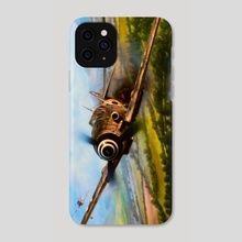 Bf109 Hunted - Phone Case by Warmachines WorldWar2