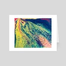 Geopoliticus - Art Card by Jennifer Walsh