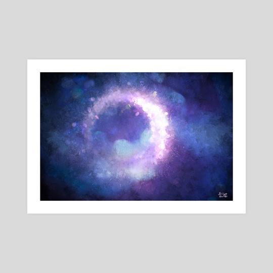 Moonglow Abstract Painting by Bridget Garofalo