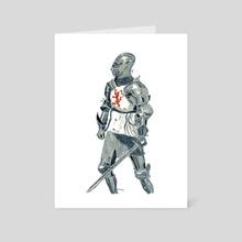 Lionheart - Art Card by Guy Parkhomenko