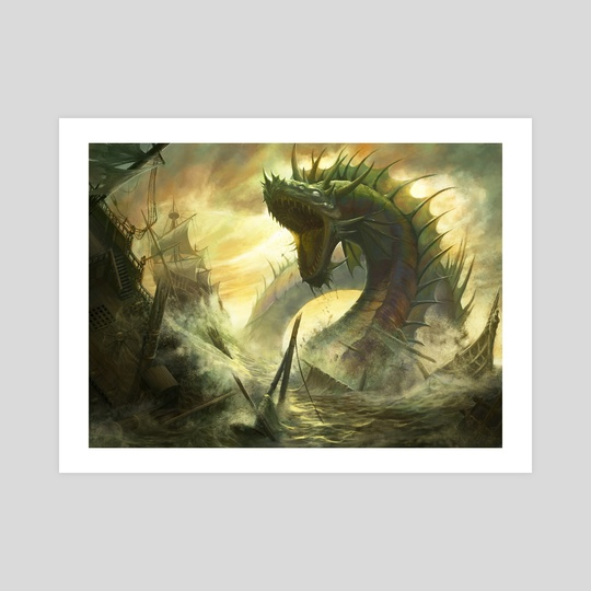 Fleetbreaker Serpent by Matt Cowdery