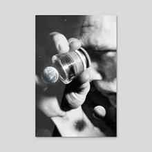 Earth Check - Acrylic by Nicebleed