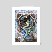 Mermaid Dreams - Art Card by Fanitsa Art