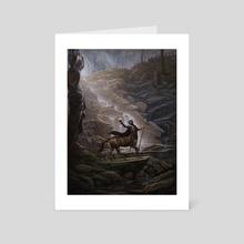Pursuance - Art Card by Nicholas Elias