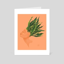 Plant Lady No. 1 - Art Card by Elissa Marie