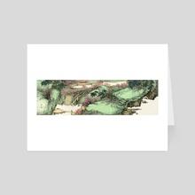 Landscape - 14 - Art Card by River Han
