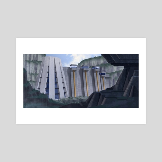Secret Mountain Facility by John Laux