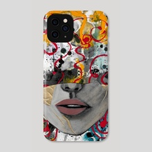 Flow State .raw - Phone Case by Magdalena Fin