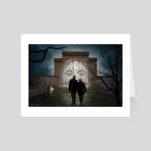 The Gate - Art Card by Dejan Travica