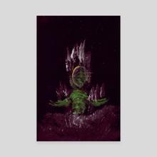 WDVMM - 0470 - Awaken Roots - Canvas by Wetdryvac WDV