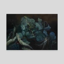 Caligo - Canvas by Nicole Duennebier
