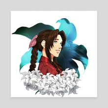 Aerith - Canvas by artblock Meechi