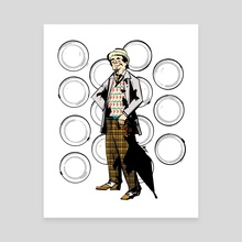 The Seventh Doctor (Doctor Who) - Canvas by Mal Jones