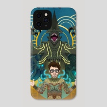 Newton Geiszler : Kaiju Groupie, Rockstar Scientist - Phone Case by Sarah Tan