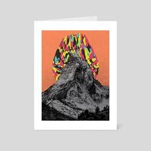 Hike - Art Card by Samuel Stroud
