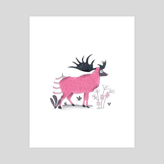 Elk by Rodrigo Fortes