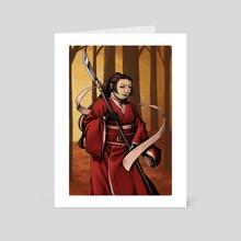 Autumn guard - Art Card by Wendy