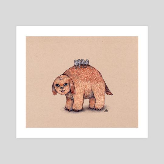 Funny Doggo by Ainsley Sturko