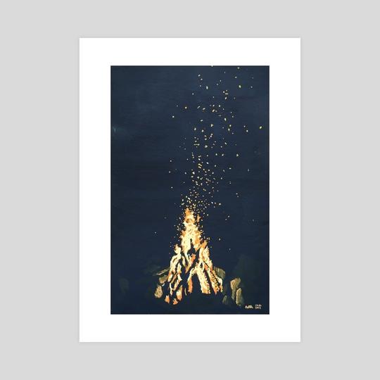 Bonfire  by Ashley Hills