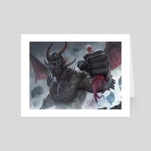 Infernal Reckoning - Art Card by Bram Sels