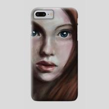 Girl - Phone Case by Anastasja Andrejas