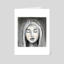 Breath - Art Card by Maureen Nadeau