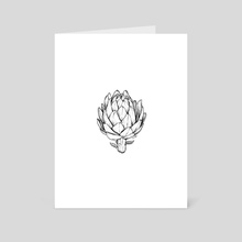 Artichoke - Art Card by Chris Cerrato