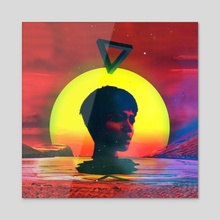 Channeling Yemoja - Acrylic by Afroscope