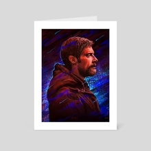 Prisoners - Keller Dover - Hugh Jackman - Art Card by Ladislas Chachignot