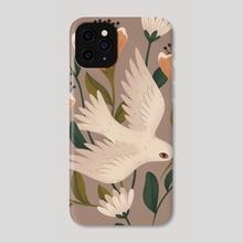 Weaving Dove - Phone Case by Lauren Myers