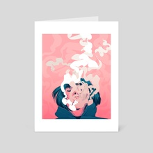 Breathe - Art Card by Carolina Rodriguez Fuenmayor