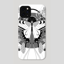 Swallowtail - Phone Case by Kim Kresan