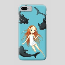 Underwater 2 - Phone Case by Indré Bankauskaité