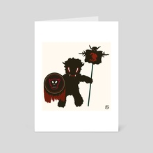Monster of the day (July 22) [Year 1] - Art Card by Royal Glamsters