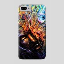 Violent Vibrations - Phone Case by Louis Dyer