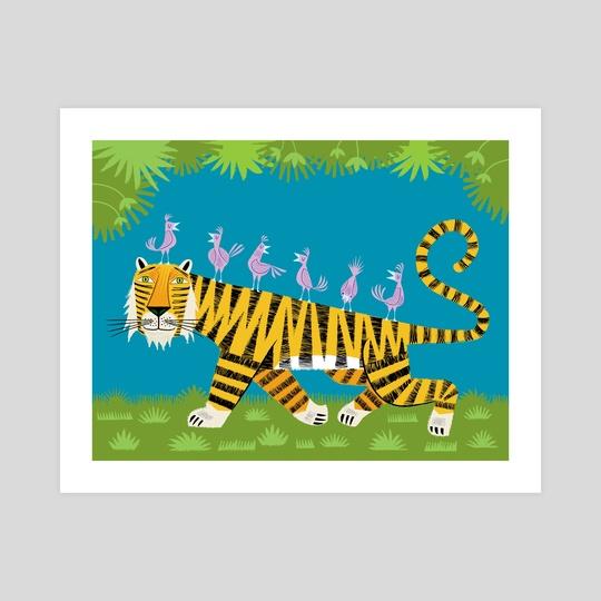 Tiger Transportation by Oliver Lake