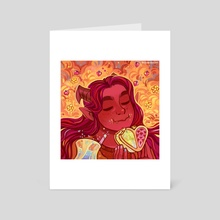 Snack - Art Card by Arsha
