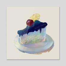 a piece of universe - Acrylic by Mona Shin