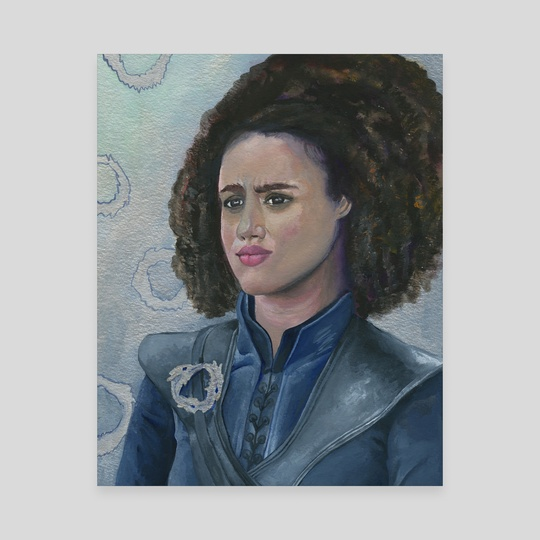 "Missandei ""Dracarys"" of Naath by the monarq"