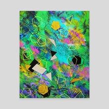 Abstract painting - Canvas by Nika Akin