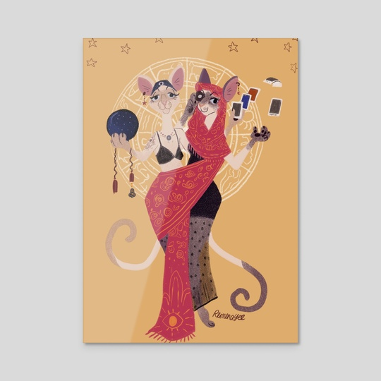 Fortune Teller by Reimena Yee