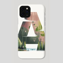 Above The Mountains - Phone Case by Sharath Raj