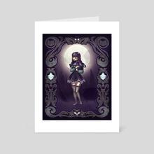 Wanda the Witch - Art Card by Tom Robinson