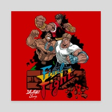Final Fight - Canvas by BlackRabbit Skinny