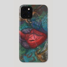 Heart String - Phone Case by Jana  McCullough