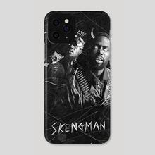 Skengman  - Phone Case by This Is Nightfall