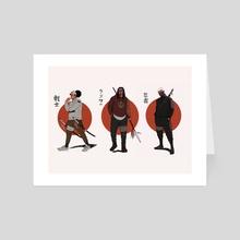The Trio - Art Card by Cedric Joseph