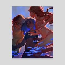Float - Canvas by Lois van Baarle